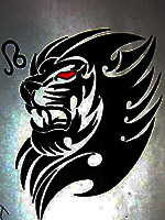 тату знак зодиака лев
